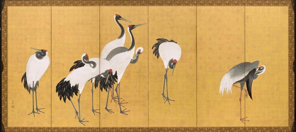 Maruyama_Okyo,_Cranes,_1772,_Los_Angeles_County_Museum_of_Art,