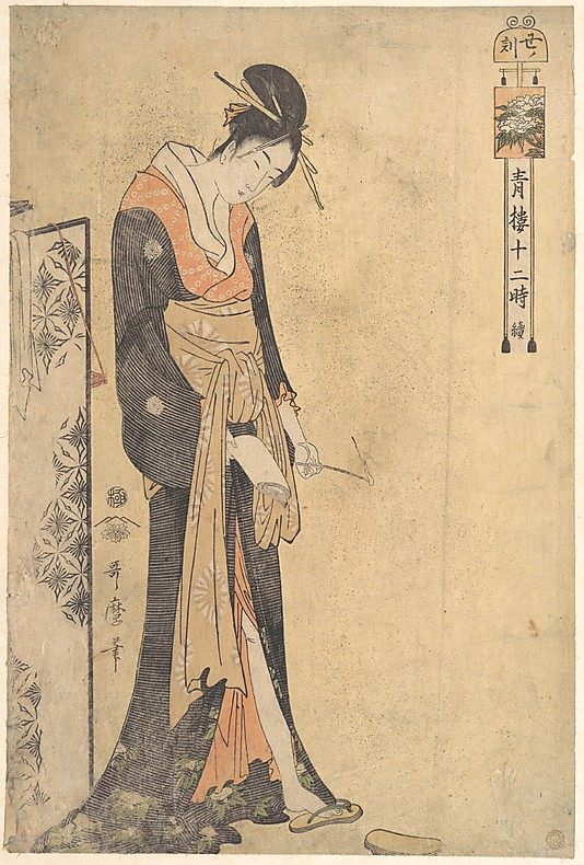 The_Hour_of_the_Ox_1-3 A.M_Utamaro