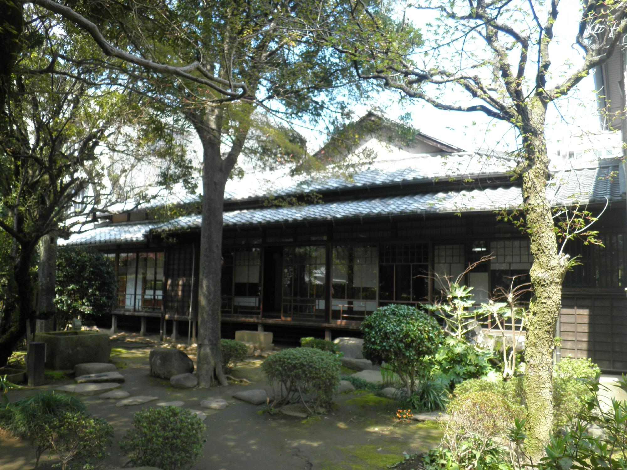 Casa de Sôseki en Kumamoto 3