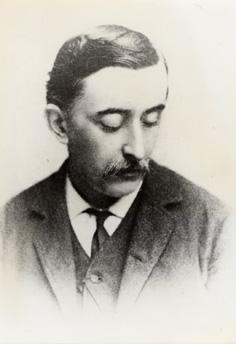 1889. Lafcadio Hearn, fotografiado por Frederick F. Gutekunst Jr. (1831-1917) en Philadelphia.