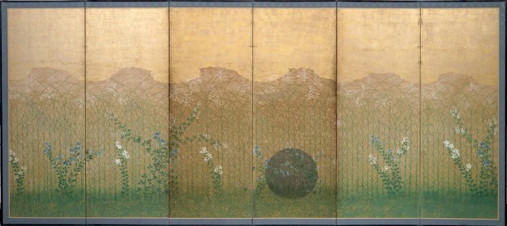 """Llanura de Musashi"" (2), autor desconocido, ss. XVII-XVIII"
