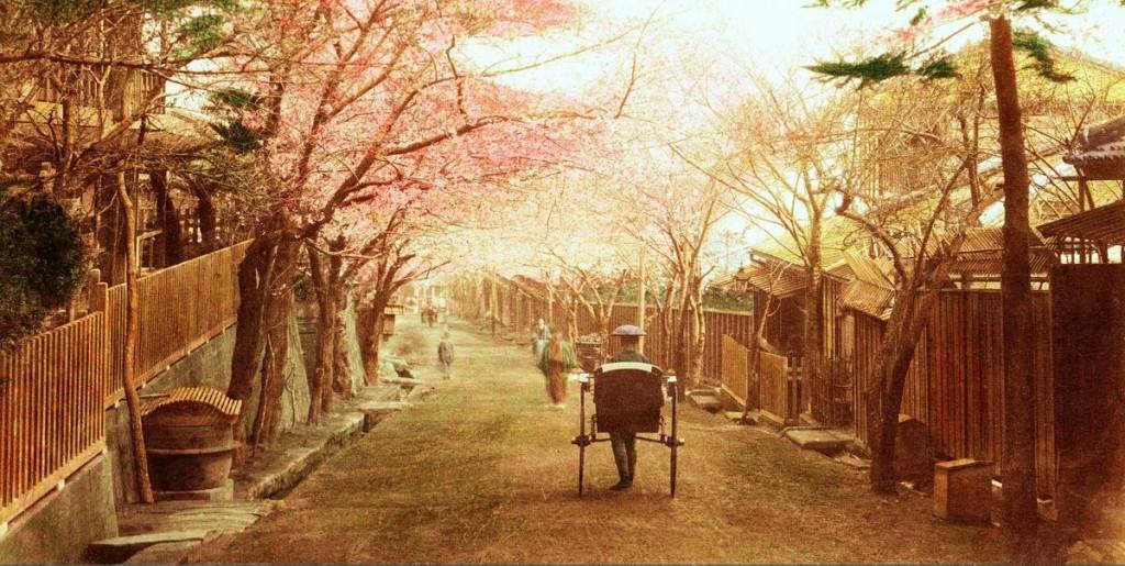 Calle de Yokohama. T. Enami, ca. 1892-95.