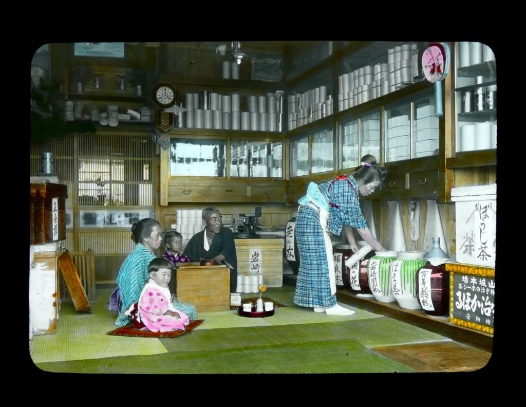 Tienda de té. T. Enami, ca.1910-15.